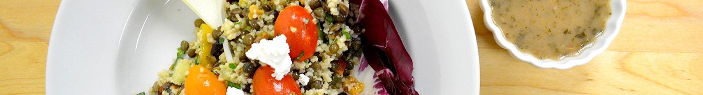 Couscous & Lentil Salad