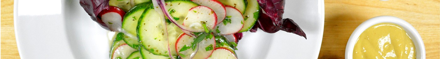 Herb Cucumber Salad