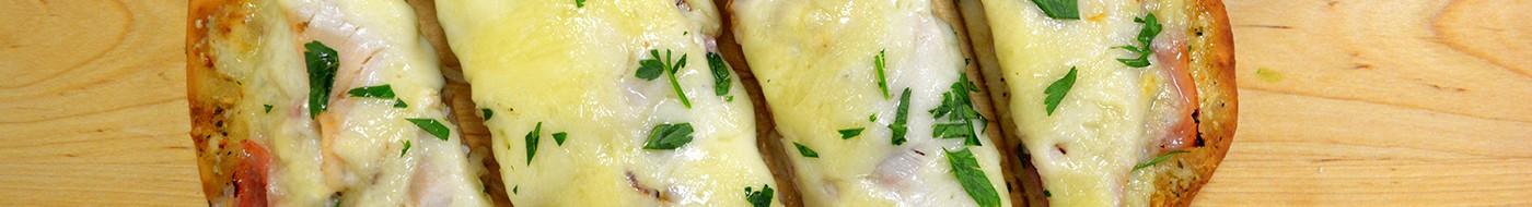 Monte Cristo Flat Bread Pizza