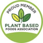 Plant Based Foods Association badge